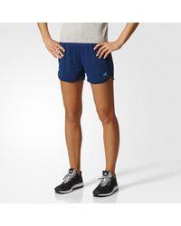 Adidas - Blue Climachill Shorts - Lyst