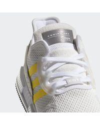 Adidas White Eqt Cushion Adv Shoes