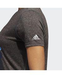 Adidas - Gray Rams Here To Create Tee - Lyst