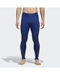 7256d879befde Lyst - adidas Alphaskin Sport Graphic Long Tights in Black for Men
