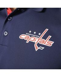 Adidas - Blue Capitals Pro Locker Room Polo Shirt for Men - Lyst