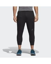 162afa9bf890 Lyst - adidas Climacool 3 4 Workout Pants in Black for Men