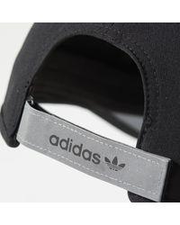 Adidas - Black Modern 3-stripes Hat for Men - Lyst