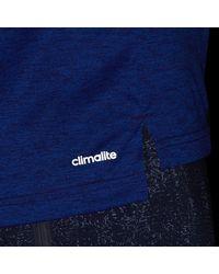 Adidas - Blue Freelift Gradient Tee for Men - Lyst