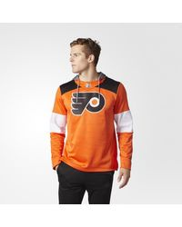 Lyst - Adidas Flyers Jersey Replica Pullover Hoodie in Orange for Men eeac71a4d