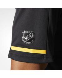 Adidas - Black Bruins Pro Locker Room Polo Shirt for Men - Lyst