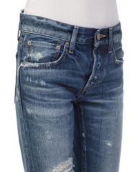 Moussy - Blue Mv Chester Tapered Jeans - Lyst