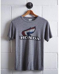Tailgate Gray Men's Honda T-shirt for men