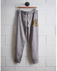 Tailgate - Gray Men's Notre Dame Slim Fleece Sweatpant for Men - Lyst