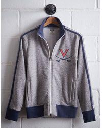 Tailgate Gray Men's Uva Track Jacket for men