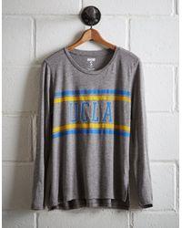 Tailgate Gray Women's Ucla Long Sleeve T-shirt
