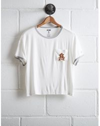 Tailgate White Women's Arizona State Pocket T-shirt
