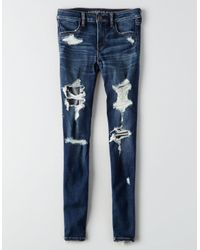 American Eagle - Blue Ae Denim X Jegging - Lyst