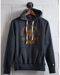 Tailgate Blue Men's Missouri Popover Hoodie for men