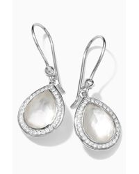 Ippolita | Metallic 'stella' Teardrop Earrings | Lyst