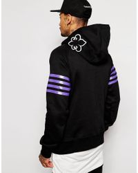 Cheats & Thieves - Black Bars Hoodie for Men - Lyst