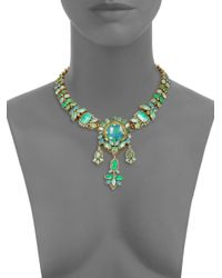 Aerin Erickson Beamon | Green Jewel Necklace | Lyst