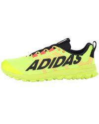 Adidas Yellow Vigor 6 Tr for men