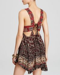 Free People | Red Spring It On Slip | Lyst
