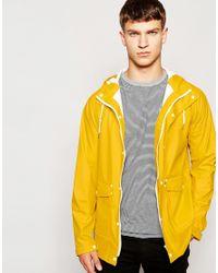 Mens Yellow Rain Coat