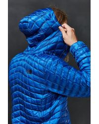 The North Face - Blue Thermoball Hoodie Jacket for Men - Lyst
