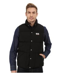 Penfield   Black Outback Vest for Men   Lyst
