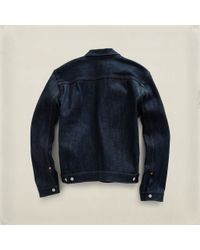 RRL | Blue Type Ii Jacket for Men | Lyst