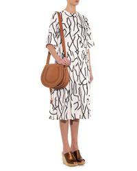 Chloé - Brown Marcie Medium Leather Cross-Body Bag - Lyst