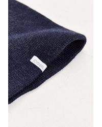 Coal - Blue The Frena Solid Beanie for Men - Lyst