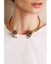 Elizabeth Cole - Metallic Tajimi Collar - Lyst