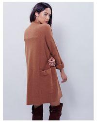 Free People | Brown Zoe Swit Dress | Lyst
