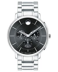Movado | Metallic Chronograph Bracelet Watch for Men | Lyst