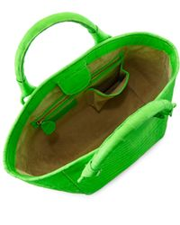 Nancy Gonzalez | Green Small Crocodile Tote Bag | Lyst