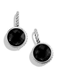 David Yurman - Metallic Color Classics Drop Earrings With Black Onyx - Lyst