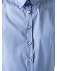 DSquared² | Blue Classic Shirt for Men | Lyst
