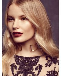 Free People - Metallic Two Rivers Choker - Lyst