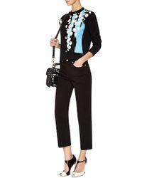 Être Cécile - Black Splash Printed Slim-fit Sweater - Lyst