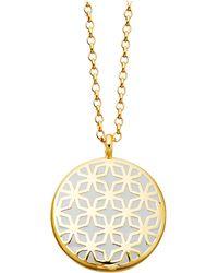 Astley Clarke | Metallic Moonlight Star Mosaic 18ct Gold Vermeil Necklace | Lyst