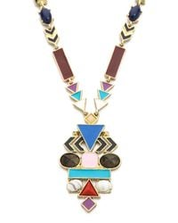 House of Harlow 1960 - Multicolor Edens Pendant Necklace - Multi - Lyst