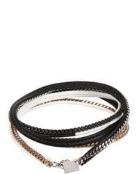 Vita Fede | Black Capri 5 Wrap Bracelet | Lyst