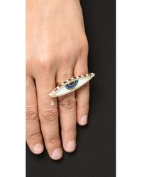 Holly Dyment | Multicolor Teary Eyed Enamel Ring - Multi | Lyst