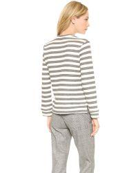 Jenni Kayne - Gray Dinosaur Sweatshirt - Grey/Ivory - Lyst