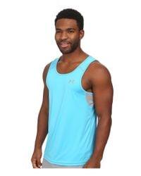 Under Armour | Blue Ua Coldblack® Singlet for Men | Lyst