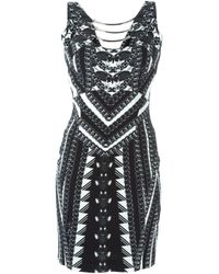 Philipp Plein - Black 'my Mind' Dress - Lyst