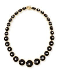 Maria Canale For Forevermark - Black 18k Pyramide Onyx & Diamond Necklace - Lyst