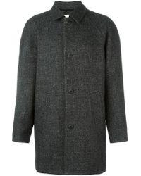 Folk - Gray 'roomy' Coat for Men - Lyst