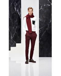 HUGO | White Slim-fit Shirt In Cotton: 'ero3' for Men | Lyst