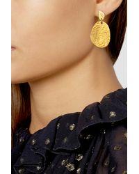 Yossi Harari - Metallic Melissa 24-Karat Gold Earrings - Lyst