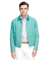 Brooks Brothers | Green Clifton Bomber Jacket for Men | Lyst