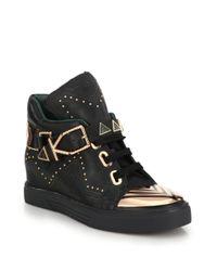 Ivy Kirzhner | Black Lunar Heavy Sneakers | Lyst